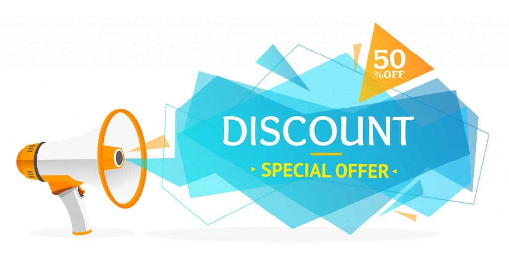 Discount or Special offer