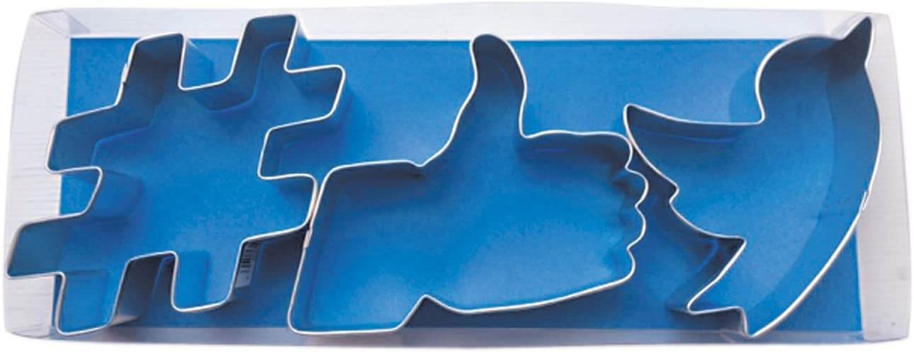 Social Media Cookie Cutters - 2020 Holiday Gift List